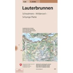 Lauterbrunnen  1228  1/25.000
