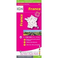 Frankrijk  IGN 1/1M 901