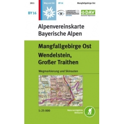 Mangfallgebirge Ost Weg+Ski