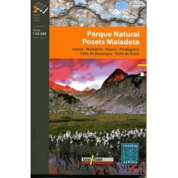 Parque Natural Posets-Maladeta  1/25.000