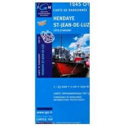 Hendaye/Saint Jean 1245 OT  1/25.000 TOP