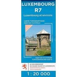 Luxemburg en Omgeving  R07  1/20.000