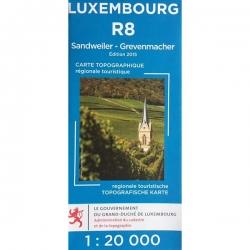 Sandweiler - Grevenmacher R08  1/20.000