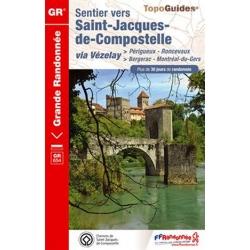 Sentier v St-Jacques-de-CompostelleGR654
