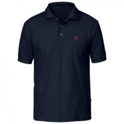 Crowley Pique Shirt - Blueblack