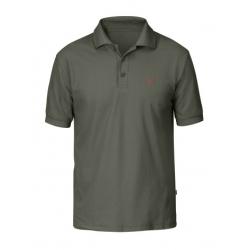Crowley Pique Shirt - Mountain Grey