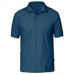Crowley Pique Shirt - Uncle Blue