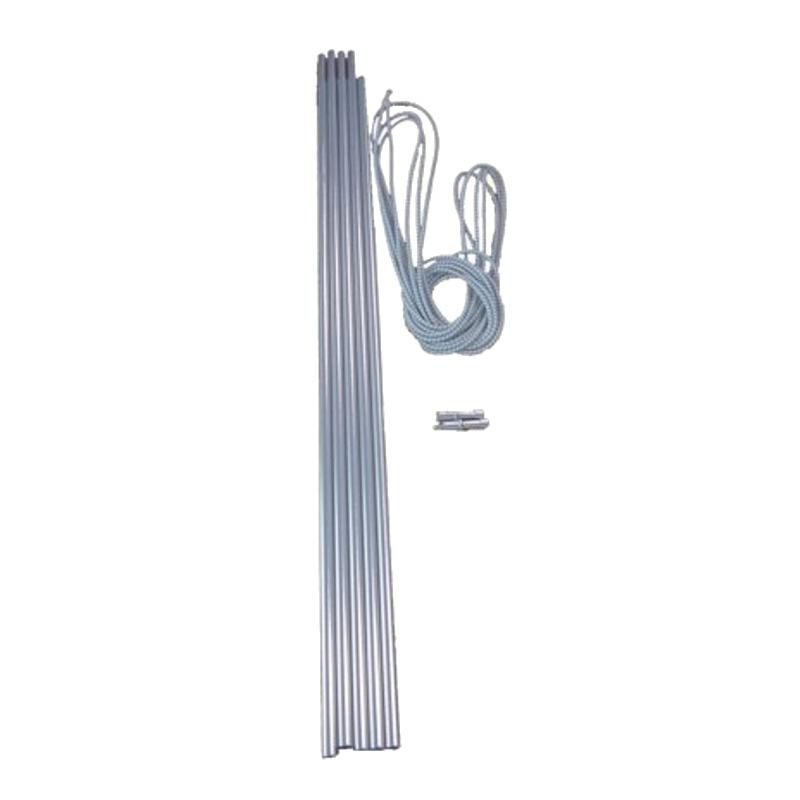 Alloy pole set 55 * 9.5 mm