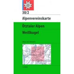 Otztaler Alpen -Weisskugel...