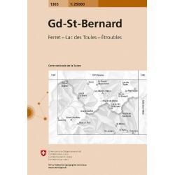 Gd St Bernard  1365  1/25.000