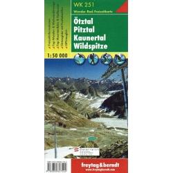 Otztal Pitztal  251  1/50.000  F/B