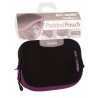 Padded Pouch M paars/zwart