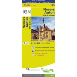Nevers / Autun 1:100.000 - 135