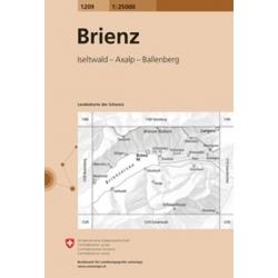 Brienz 1209 1/25.000