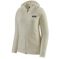 W R1 Full Zip Hoody - Birch White