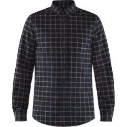Ovik Flannel Shirt - Dark Navy