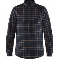 Ovik Flannel Shirt - Dark Navy