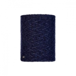 Knitted&Polar Neckwarmer-Ebba Night Blue