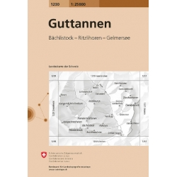 Guttannen  1230  1/25.000