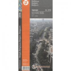 Belgie  Topo Kaart  1/250.000