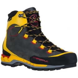 Trango Tech Leather GTX - Black Yellow
