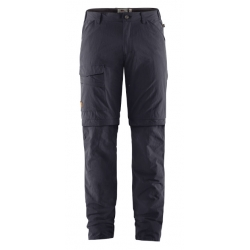 Travellers MT Zip Off Trouser- Dark Grey