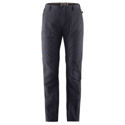 W Travellers MT Zip Off Trous-Dark Grey