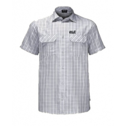 Thompson Shirt - White Rush Checks