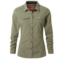 W NLife Adventure II LS Shirt - Soft Mos
