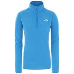 100 Glacier 1/4 Zip - Clear Lake Blue