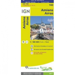 Amiens / Arras 1:100.000 - 103