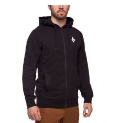 Stacked Fullzip Hoody - Black