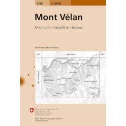Mont Velan  1366  1/25.000