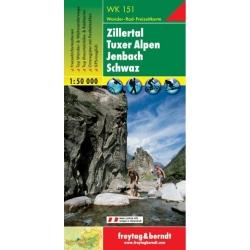 Zillertal / Tuxer Alpen  151  F/B