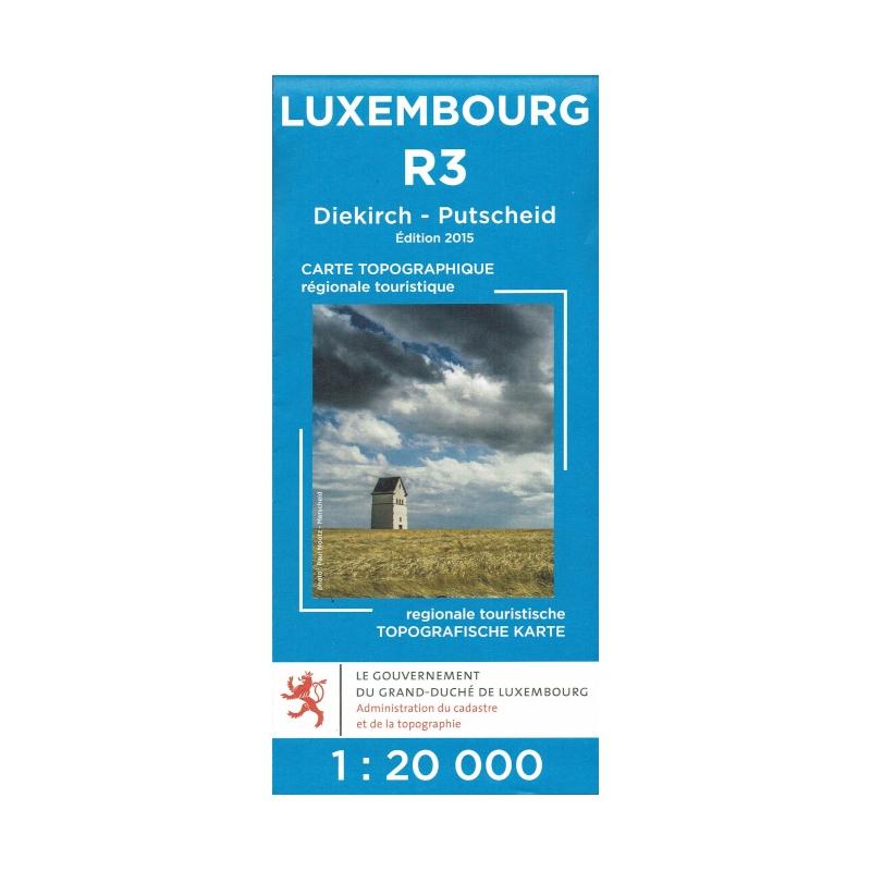 Diekirch / Putschaid  R03  1/20.000