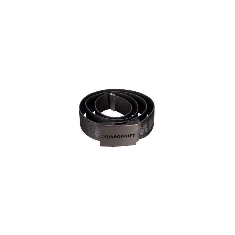 Logo Belt - Black Titanium
