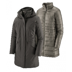 W Vosque 3in1 Parka - Forge Grey