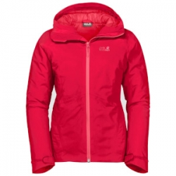 W Argon Storm Jacket - Clear Red