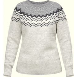 W Ovik Knit Sweater - Grey
