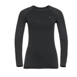 W Top CN LS Perf Warm Eco - Black