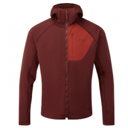 Superflux Hoody - Oxblood Red Ascent