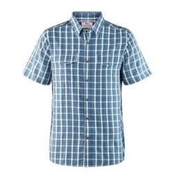 Abisko Cool Shirt SS - Uncle Blue