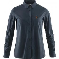 W Ovik Lite Shirt LS - Navy
