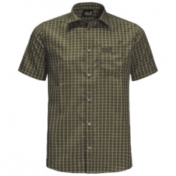 El Dorado Shirt - Dark Moss Checks