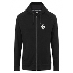 Chalked Up FZ Hoody - Black