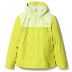 W Tente Fl Jkt - Sulp SpringGreen Yellow