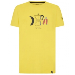 Breakfast Tshirt - Yellow