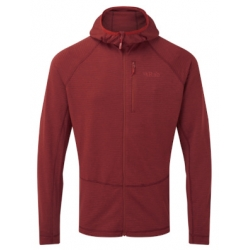 Filament Hoody - Oxblood Red