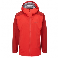 Kinetic Alpine 2.0  Jacket - Ascent Red