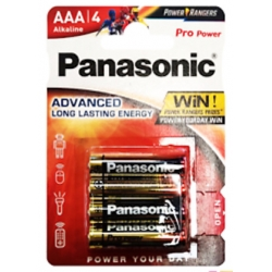 Alkaline Pro power AAA -4stks Bebat incl